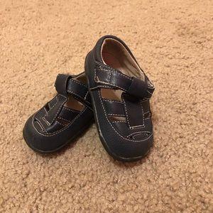 See Kai Run Navy Blue Sandal